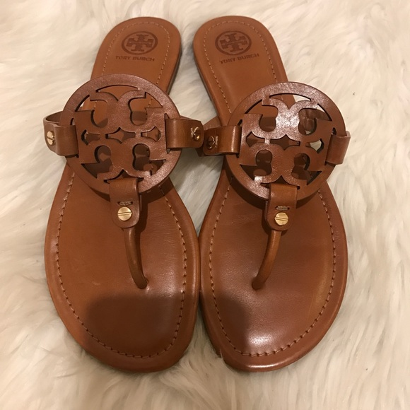 276ee0100667dd Tory Burch Shoes - Tory Burch Miller Sandals Size 8!